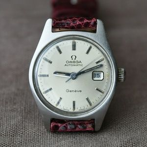 Vintage Omega 1974 Genève Women's Automatic Watch